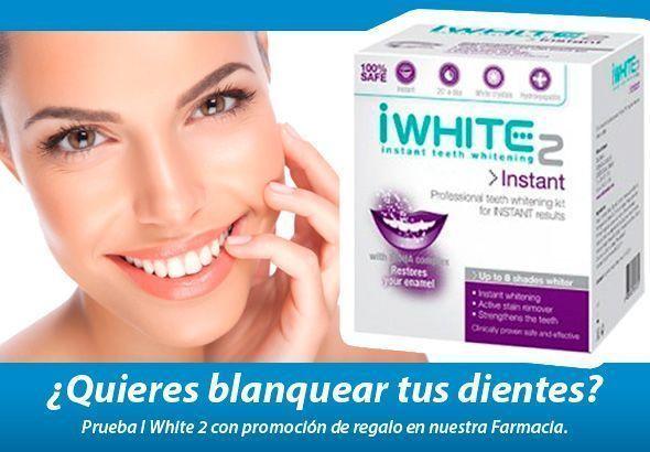 ¿Quieres blanquear tus dientes?